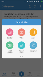 Menyembunyikan File Multimedia (Video & Photo)