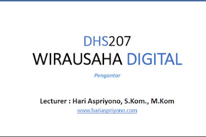 Download Materi Kuliah Wirausaha Digital