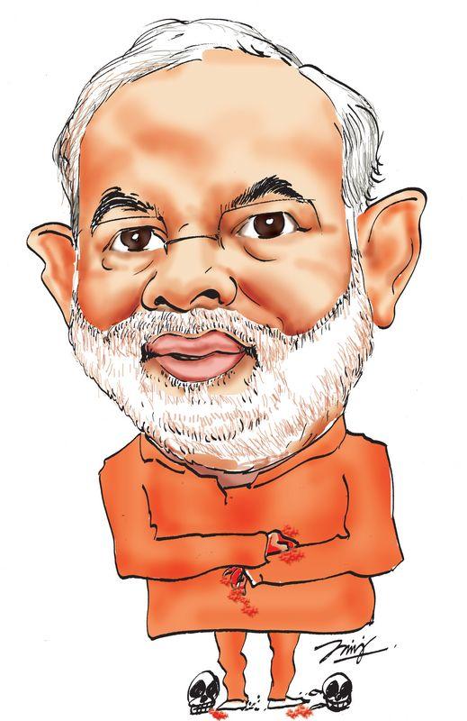 Modis cartoon