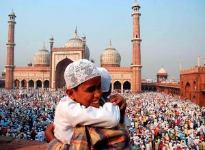 Eid-ul-Fitr is celebration at the end of Ramadan