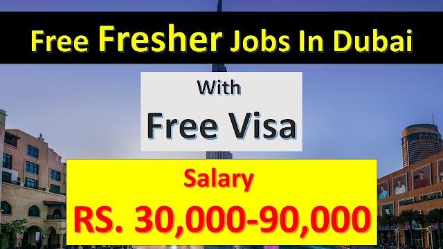 Fresher Jobs In Dubai | Jobs In Dubai For Indian Graduates Fresher |