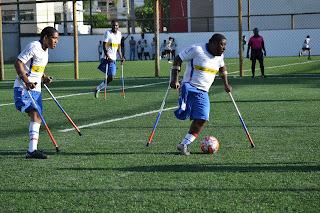 Bahia de futebol de amputados conquista título baiano