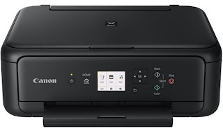 a printer made for helpful fantabulous shading printing from the solace of your ain dwelling wi Canon TS5160 PIXMA Home Drivers Download