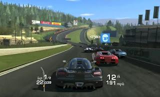 Real Racing 3D  game mobil balap