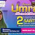 Poster Kursus Umrah Khas Untuk Muslimat Bersama Ustazah Hjh Sukartini