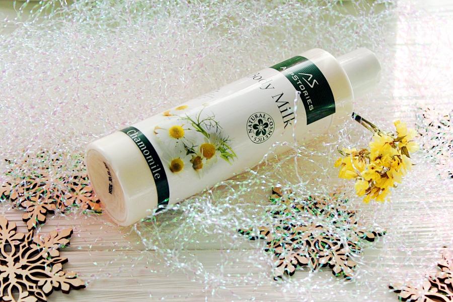 """""""Ромашковое"""" молочко для тела AlpStories Body Milk Camomille / обзор, отзывы"""