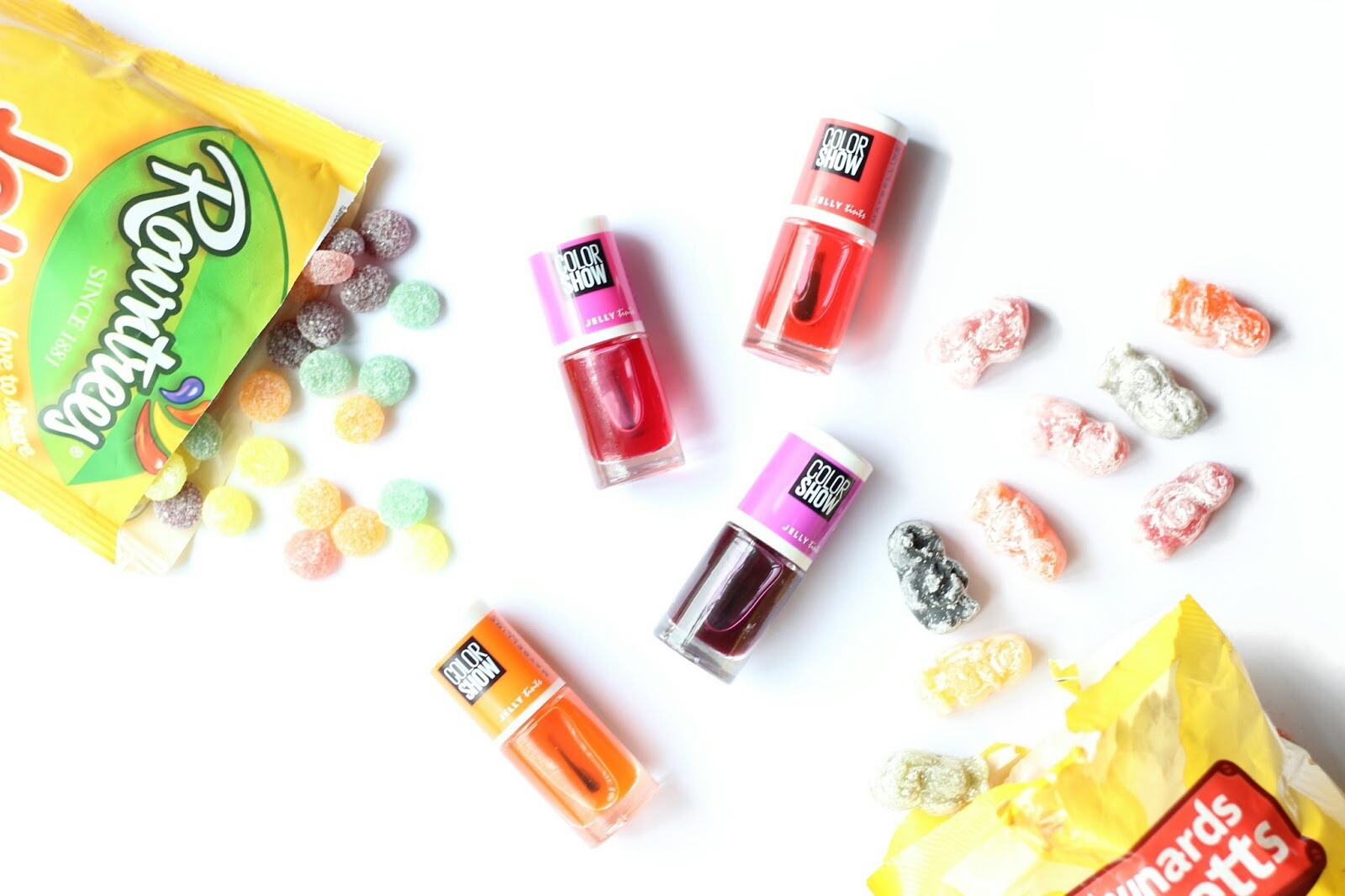 Maybelline Color Show Jelly Tints Nail Polishes