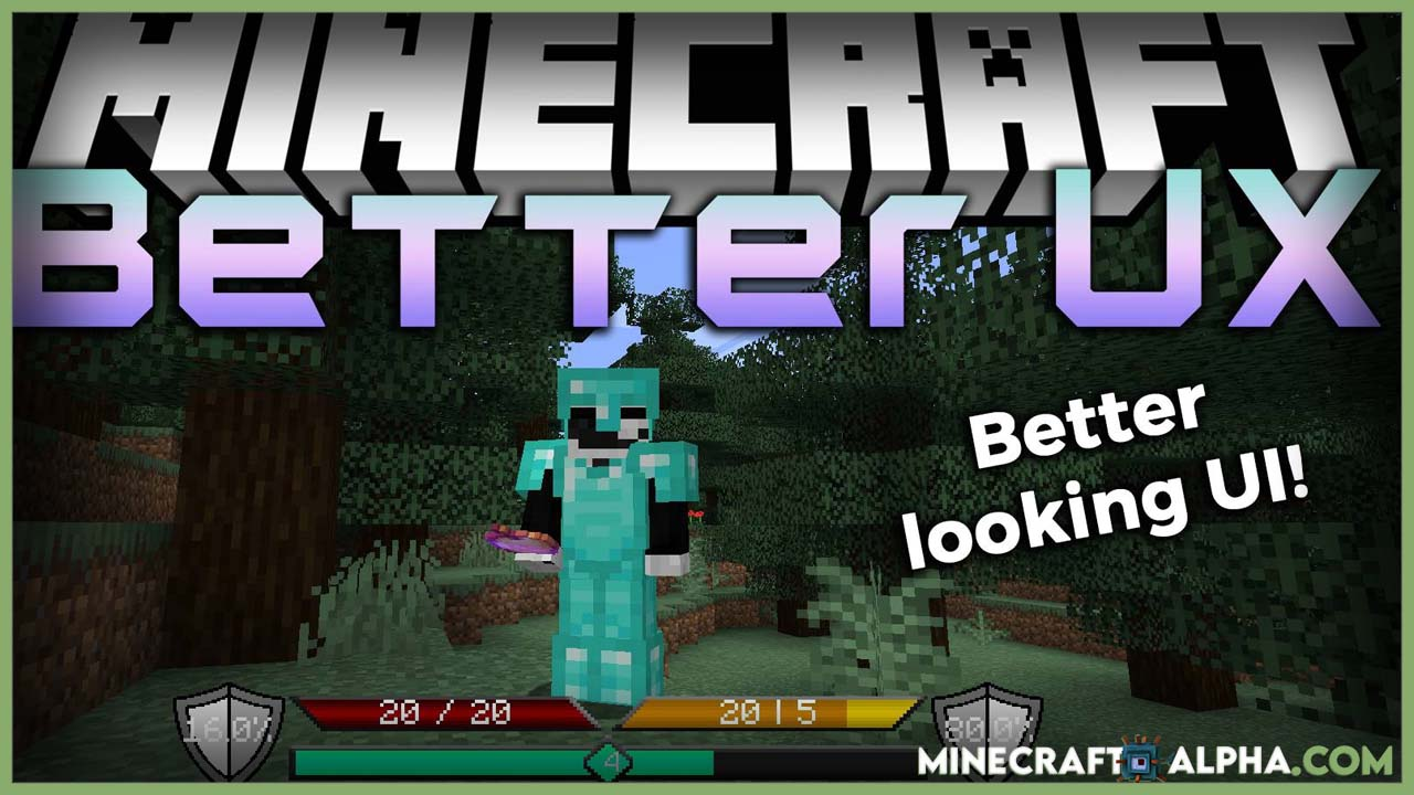 Minecraft Better UX Mod 1.17.1 (Overlay Improvements)