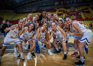 Μπράβο κορίτσια μας κάνατε περήφανους -Άνοδος της Εθνικής νεανίδων στην Α΄ Πανευρωπαϊκού