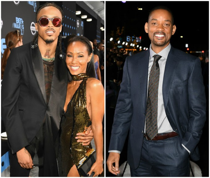 Video: August Alsina confirms romance with Jada Pinkett, says Will Smith gave him his blessing