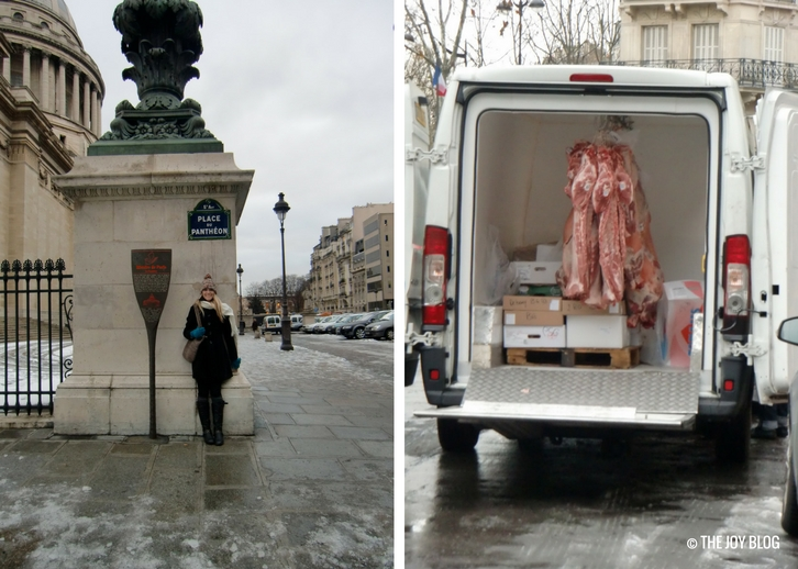 Near Pantheon & Meat Truck | That One Time I Went to Paris // WWW.THEJOYBLOG.NET