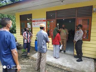 Monitoring dan Pengamanan Penyaluran Bantuan Langsung Tunai (BLT)  Tahap III Desa Penuba dan Desa Penuba Timur Tahun 2020