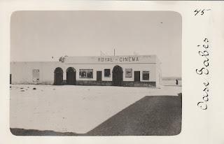 Royal Cinema Gabés Tunisie postcard