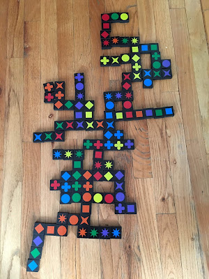 Amazing math games your students will love - this math game is called Qwirkle