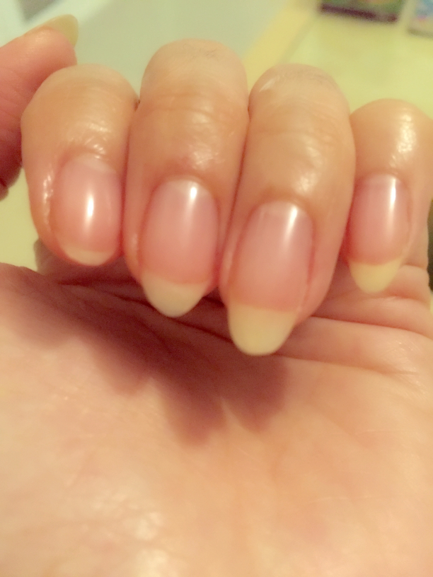 Look How Shiny My Nails Are And They Last For Weeks When It Starts Fading Just Top Up With The Buffer More Shine