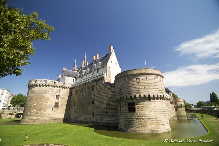 Castillo de los Duques de Bretaña - Nantes, por El Guisante Verde Project