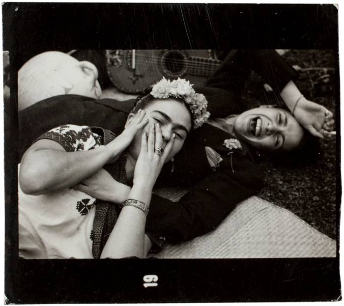 Frida and her friend Chavela Vargas