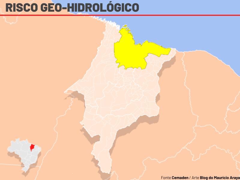 Norte do Maranhão segue em alerta para deslizamentos de terra