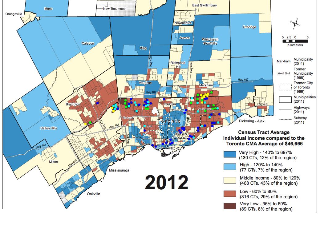 SW Ontario Urbanist Is Torontos suburban poverty