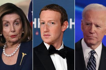 Top Democrats Berperang Dengan Facebook dan Zuckerberg