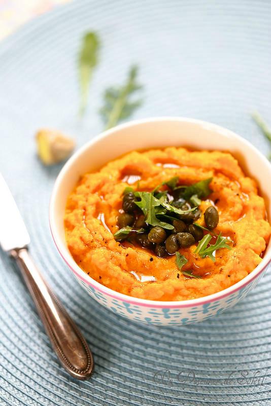 Caviar de carottes au gingembre