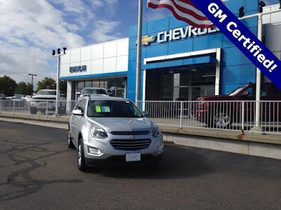 CPO 2016 Chevy Equinox For Sale Emich Chevrolet Near Denver
