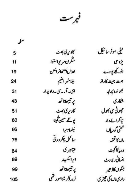 Urdu Short Stories For Kids Baccho Ki Kahani Kitab PDF