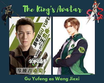 Gu Yufeng as Wang Jiexi