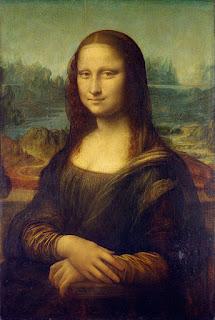 رسام لوحة الموناليزا