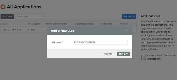 cara membuat web push notification di blog