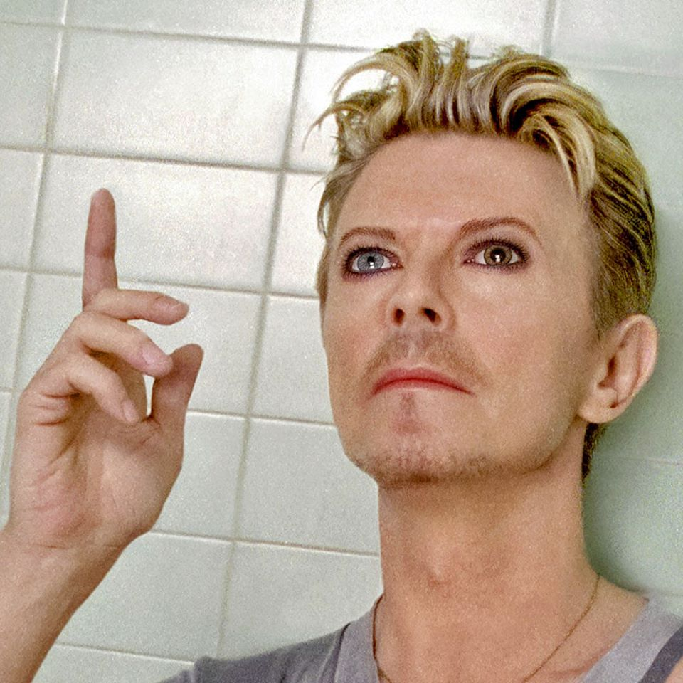 David Bowie selfie photo