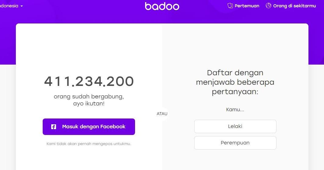 Cara sign out aplikasi badoo