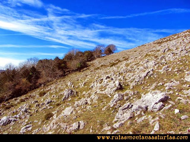 Ruta Pico Vízcares: Camino al Vízcares