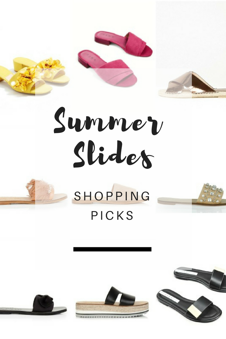 Fashion Trends: Summer slides - Ioanna's Notebook
