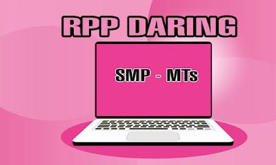 RPP Daring Prakarya SMP-MTs Kurikulum 2013 Revisi 2020