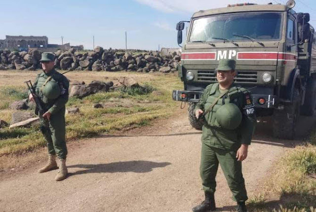 Siria agrade desminado de los armenios