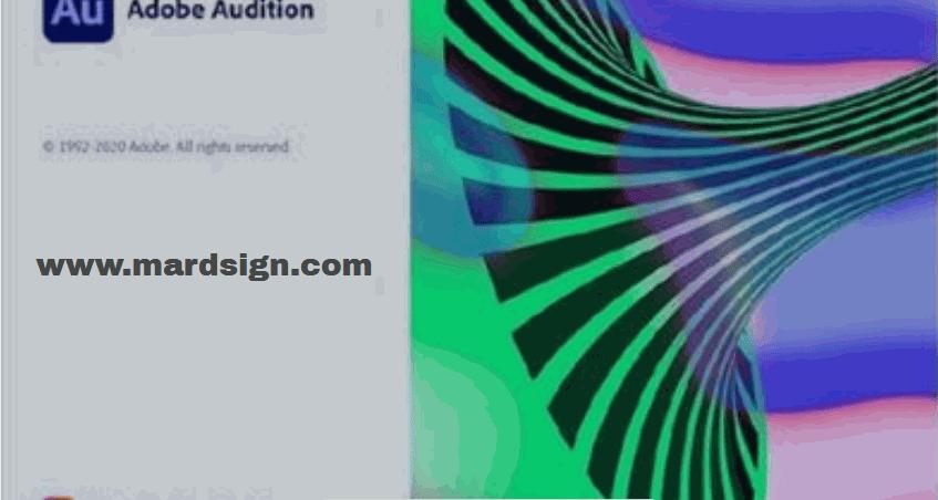 تحميل برنامج Adobe Audition CC 2021 مفعل كامل .