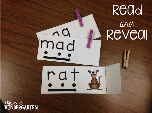 http://www.miss-kindergarten.com/2015/01/read-and-reveal-blending-words-practice.html
