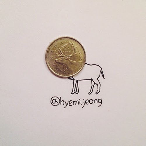 12-Reindeer-Hyemi-Jeong-Everyday-Things-to-Draw-With-www-designstack-co