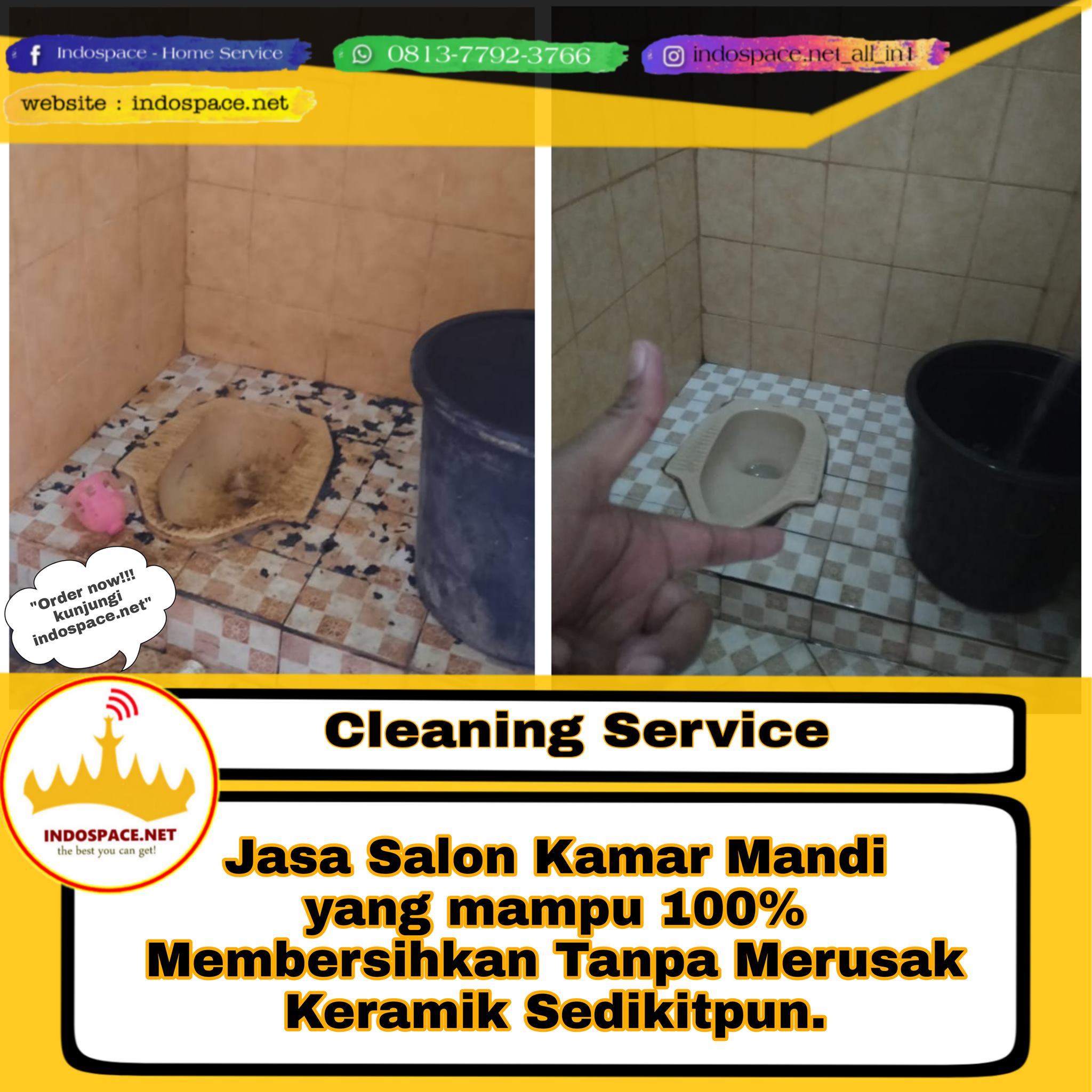 cleaning service indospace