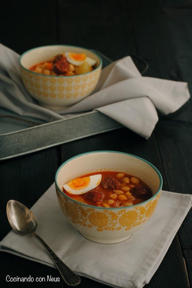 Cocinando con neus garbanzos estofados for Cocinando 1000 huevos