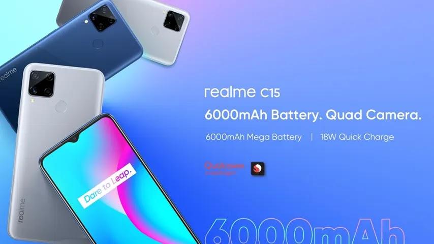 Realme C15 Snapdragon 460