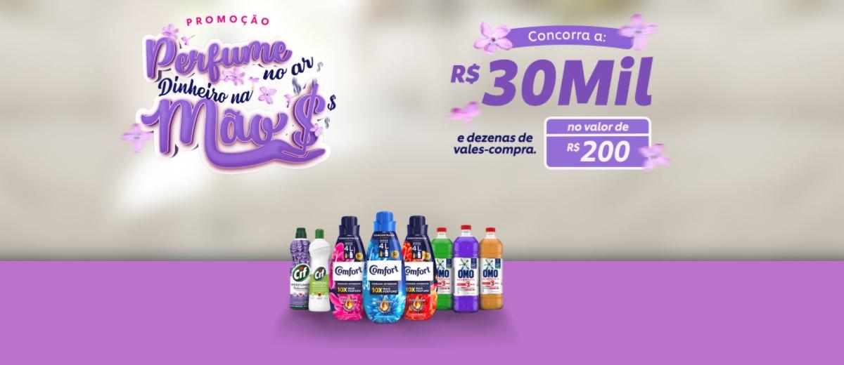 Participar Perfume no Ar Dinheiro na Mão Promoção 2021