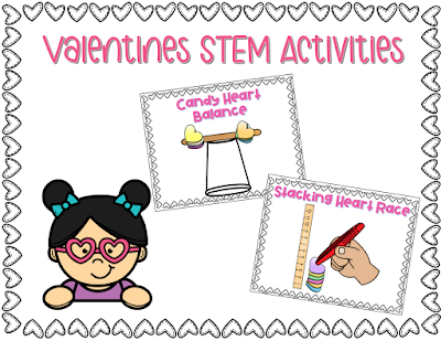Valentines STEM Activities for school and Home