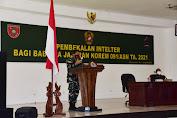 Babinsa Jajaran Korem 091/ASN Menerima Pembekalan Intelijen Teritorial