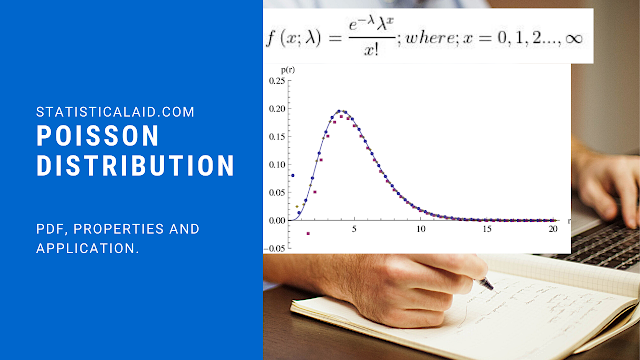 Poisson Distribution: Definition, Properties and application with real life example