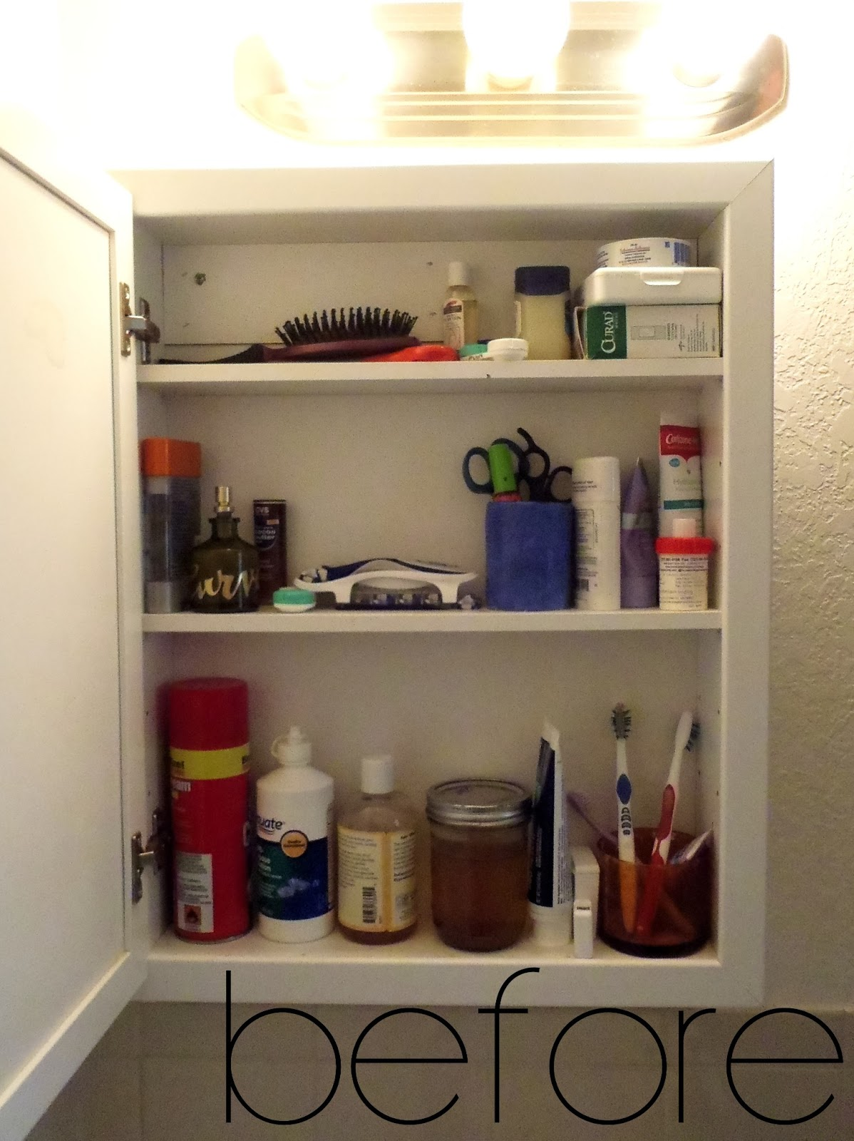 Medicine Cabinet Makeover – Turning It Home