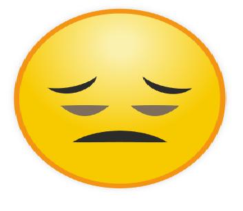 Emoticon WA Kecewa