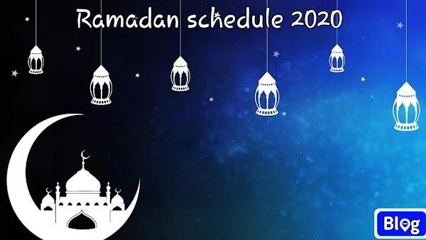 Ramadan calendar 2020   রোজার ক্যালেন্ডার ডাউনলোড করুন সবার আগে
