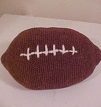 http://www.crochetkim.com/patterns/football.html